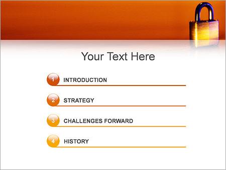 Шаблон для презентации Навесной замок - Третий слайд