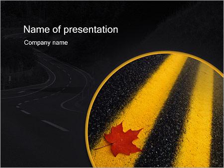 Шаблон презентации Двойная сплошная - Титульный слайд