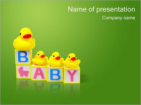 Шаблон презентации Детские игры - Титульный слайд