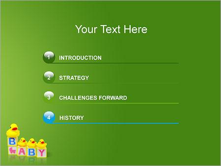 Шаблон для презентации Детские игры - Третий слайд