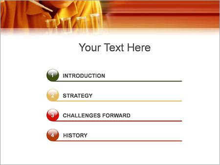 Шаблон для презентации Химия - Третий слайд