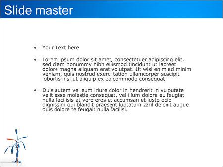 Шаблон PowerPoint Разъемы USB - Второй слайд