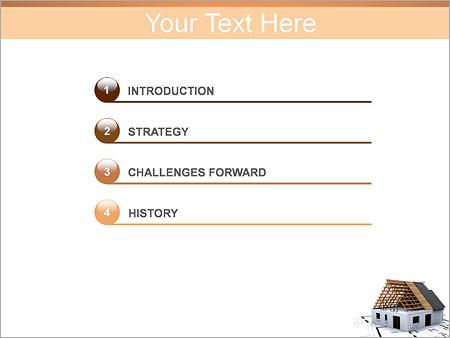 Шаблон для презентации Планирование строительства дома - Третий слайд