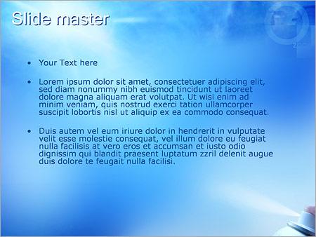 Шаблон PowerPoint Разрушение озонового слоя - Второй слайд