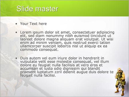 Шаблон PowerPoint Служба по контракту - Второй слайд