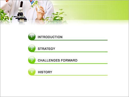 Шаблон для презентации Искусственное выращивание растений - Третий слайд