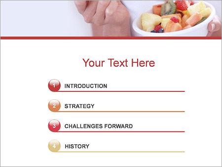 Шаблон для презентации Фруктовая диета - Третий слайд