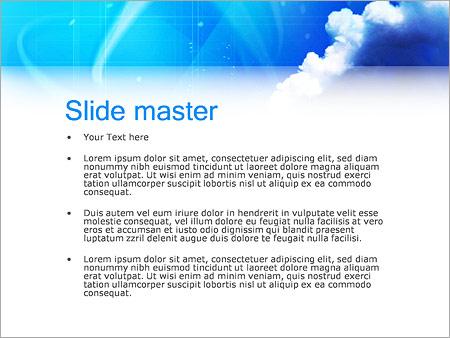 Шаблон PowerPoint Труба завода - Второй слайд