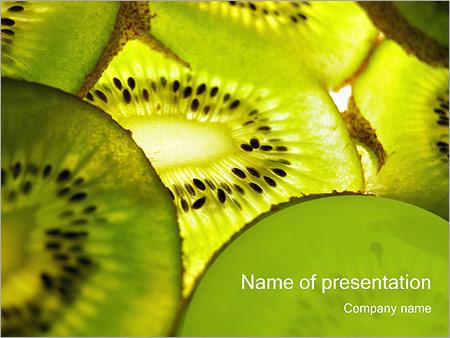 Шаблон презентации Киви - Титульный слайд