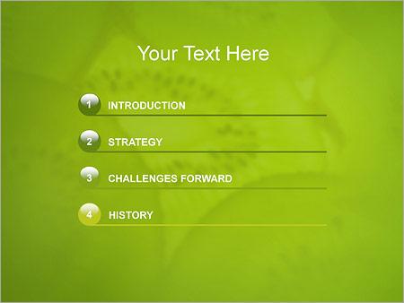 Шаблон для презентации Киви - Третий слайд