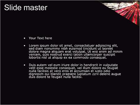 Шаблон PowerPoint Городской трафик - Второй слайд