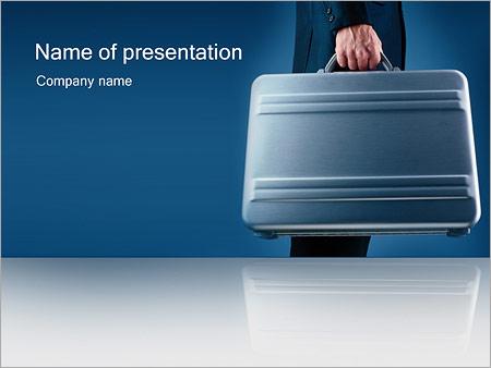 Шаблон презентации Деловой человек - Титульный слайд