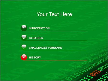 Шаблон для презентации Двоичный код - Третий слайд