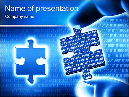 Шаблон презентации Часть информации - Титульный слайд