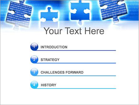 Шаблон для презентации Часть информации - Третий слайд
