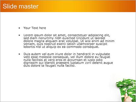 Шаблон PowerPoint Весна - Второй слайд