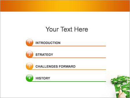 Шаблон для презентации Весна - Третий слайд