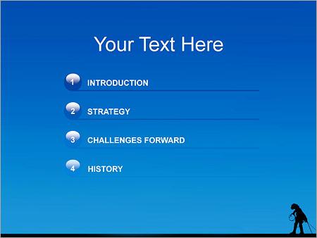 Шаблон для презентации Строитель высотник - Третий слайд