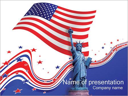 Шаблон презентации День независимости - Титульный слайд