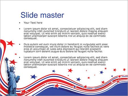 Шаблон PowerPoint День независимости - Второй слайд