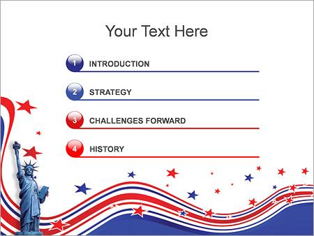 Шаблон для презентации День независимости - Третий слайд