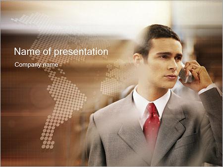 Шаблон презентации Деловое общение - Титульный слайд