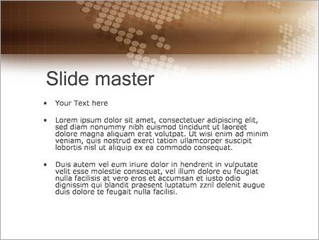 Шаблон PowerPoint Деловое общение - Второй слайд