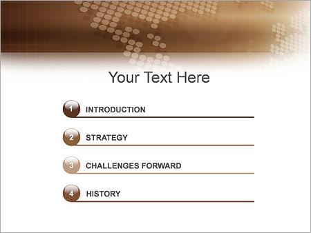 Шаблон для презентации Деловое общение - Третий слайд