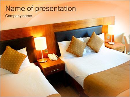 Шаблон презентации Номер в гостинице - Титульный слайд
