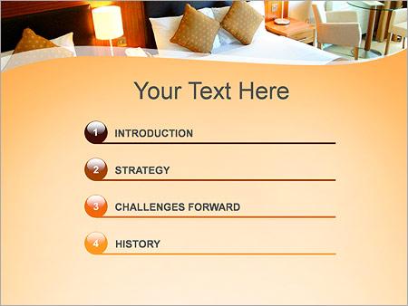 Шаблон для презентации Номер в гостинице - Третий слайд
