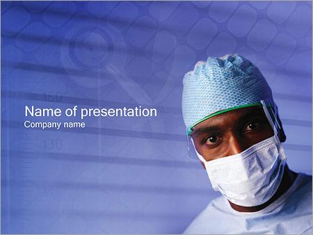 Шаблон презентации Врач - Титульный слайд