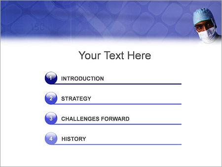 Шаблон для презентации Врач - Третий слайд