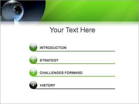 Шаблон для презентации Веб-камера - Третий слайд