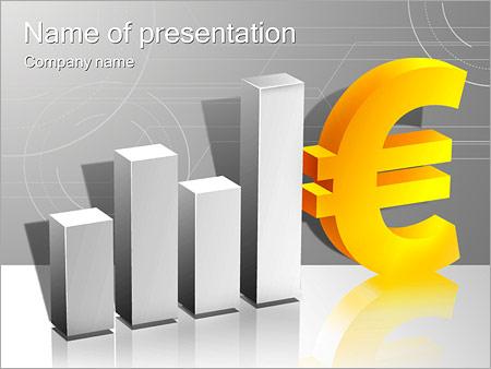 Шаблон презентации Курс евро - Титульный слайд