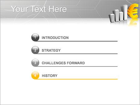 Шаблон для презентации Курс евро - Третий слайд