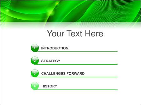 Шаблон для презентации Зеленая психоделика - Третий слайд