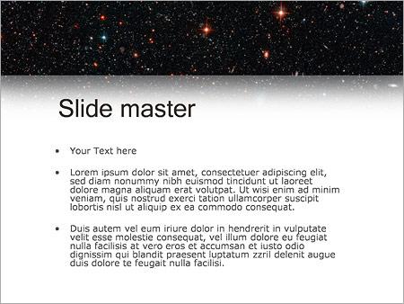 Шаблон PowerPoint Космонавты - Второй слайд