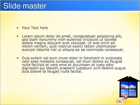 Шаблон PowerPoint Windows и мышь - Второй слайд