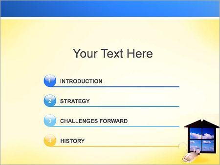 Шаблон для презентации Windows и мышь - Третий слайд