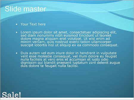Шаблон PowerPoint Продажа - Второй слайд