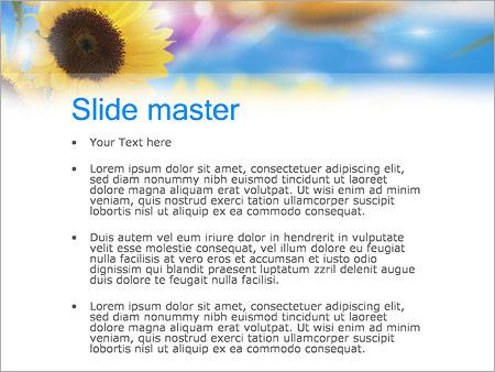 Шаблон PowerPoint Счастливая женщина - Второй слайд