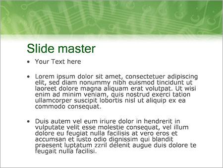 Шаблон PowerPoint Мобильная связь - Второй слайд