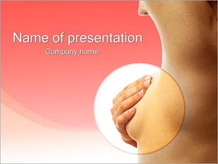 Шаблон презентации Рак молочной железы - Титульный слайд
