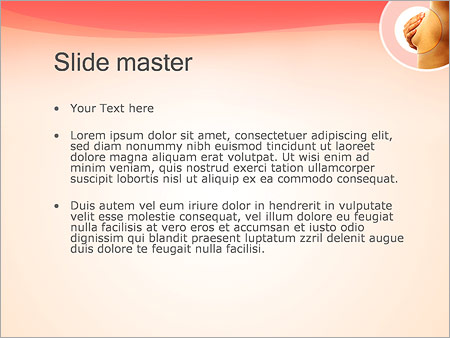 Шаблон PowerPoint Рак молочной железы - Второй слайд