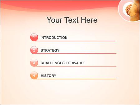 Шаблон для презентации Рак молочной железы - Третий слайд