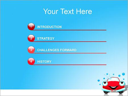 Шаблон для презентации Чистый автомобиль - Третий слайд