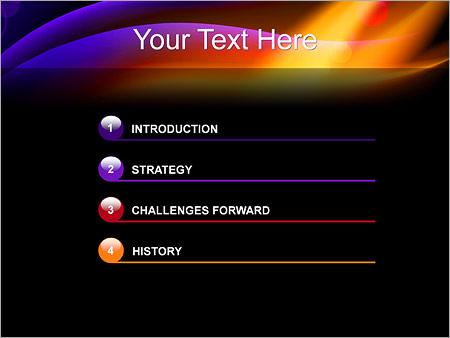Шаблон для презентации Северное сияние - Третий слайд