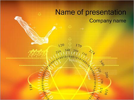 Шаблон презентации Гироскоп и притяжение - Титульный слайд