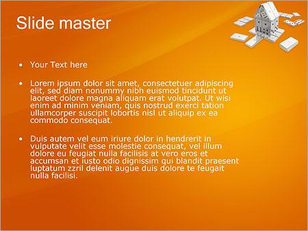 Шаблон PowerPoint Домино - Второй слайд