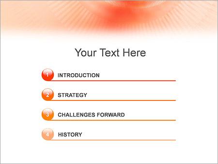 Шаблон для презентации Бежевый тоннель - Третий слайд